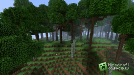 BigTrees для minecraft 1.1 (Оставляем комментарии внутри новости)