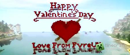 Minecraft Timelapse - Valentine's Special